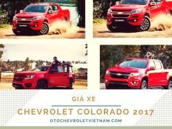 Giá xe Chevrolet Colorado 2017