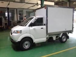 Nhận xét xe tải nhẹ Suzuki Carry Pro thùng đông lạnh